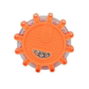 orange Roadside Emergency Flare Safety Disc Light-Auto-TheWantsies.com