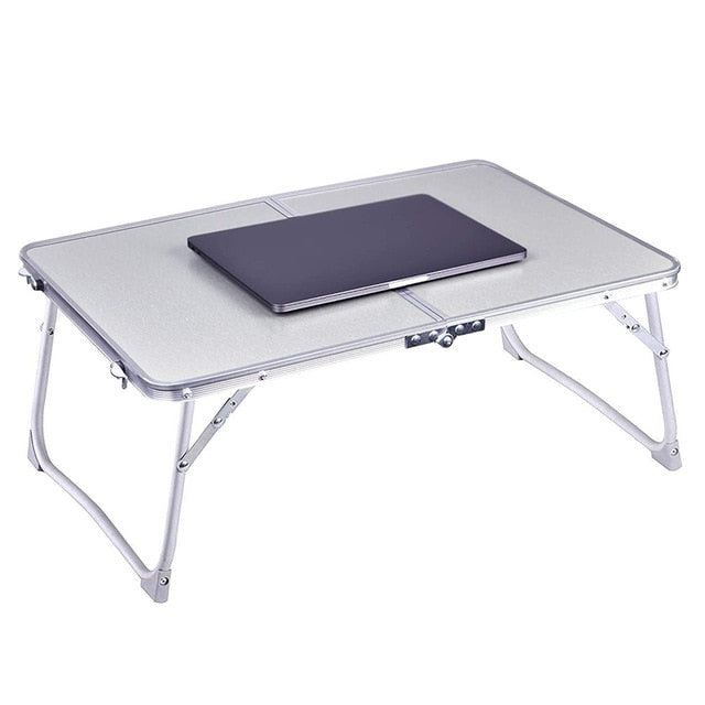 United States Standing Desk for Chromebook, Laptop or Notebook for At Home Schooling-Laptop Desks-silver-TheWantsies.com