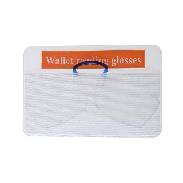 100 Mini Reading Glasses for Sticking On to Phone Case-Reading Glasses-with 86x56mm PVC-TheWantsies.com