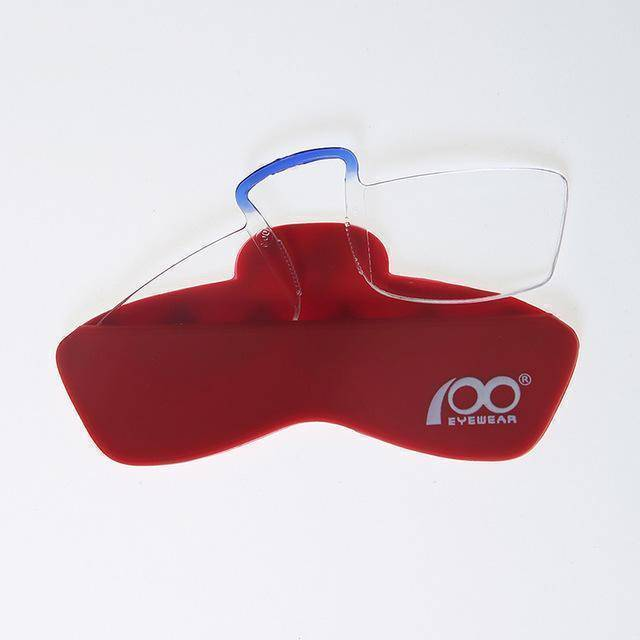 100 Mini Reading Glasses for Sticking On to Phone Case-Reading Glasses-with Silicon Case3-TheWantsies.com