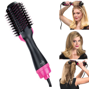 Wantsie 2 in 1 Hair Dryer and Straightening Blowout Hot Air Brush-Beauty-TheWantsies.com