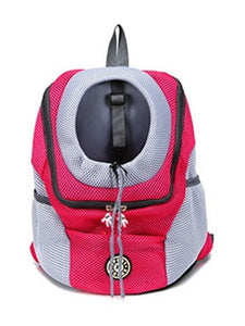 Red WantsiePet Pet Carrier Chest Bag Backpack-Pet-Large-TheWantsies.com