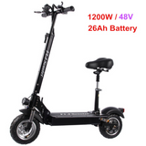 FLJ SK1 E-Scooter with seat 48V /1200W