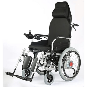 Electric and Manual Heavy Duty Foldable Wheelchair