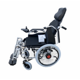 Electric Power Wheelchair with Adjustable Foot and Backrest 100 kg Capacity GE