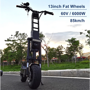 FLJ K6 13inch Fat Wheel E Scooter