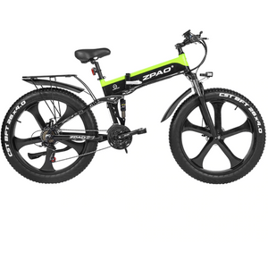 ZPAO Retro Electric Bike Fat Tire Foldable 1000W