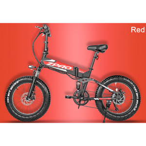 ZPAO Electric Mountain Bike Foldable