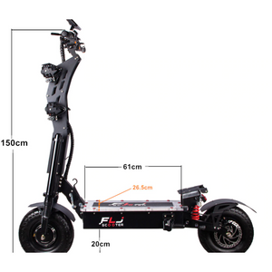 SK2 FLJ 72V 8000W 13inch fat wheel E-Scooter