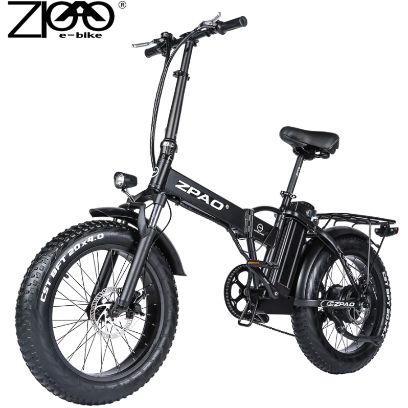 ZPAO Electric Bike 20 Inch Foldable