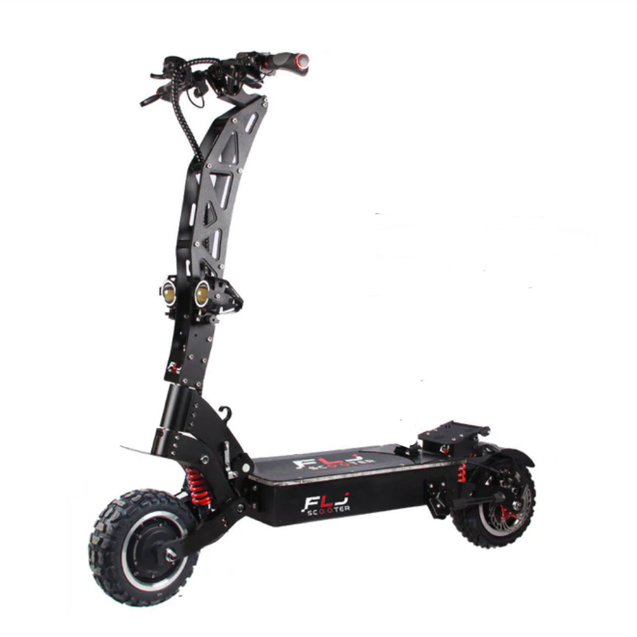 FLJ SK3 Blue or Red E-Scooter 7000W On road or Off road tires