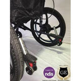 Foldable Electric and Manual wheelchair All-Round Use