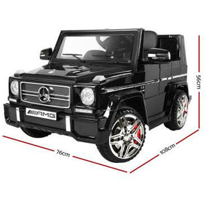 Mercedes Benz G65 12V Electric Black Electric Kids Ride On Car
