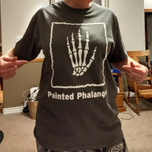 Gray Painted Phalanges Logo T-shirt (Various Sizes)