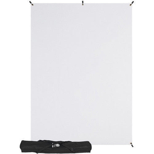 Westcott X-Drop 5' x 7' Kit, White