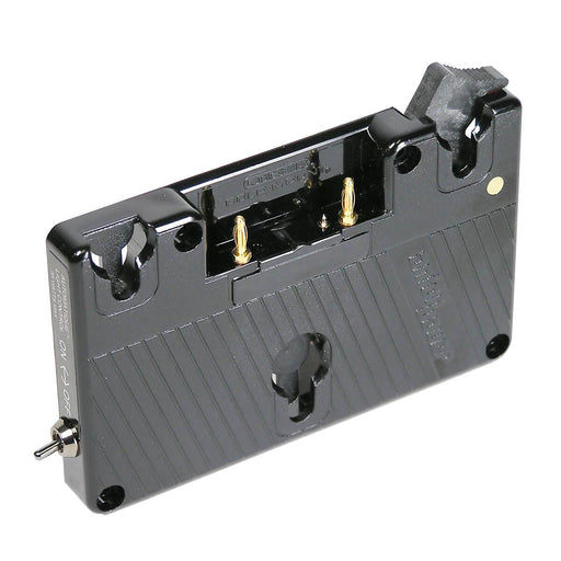 Anton Bauer QR-DP800 Gold Mount Battery Plate for Panasonic AG-DP800 SuperCam S-VHS Camcorder from OnSetLighting.com