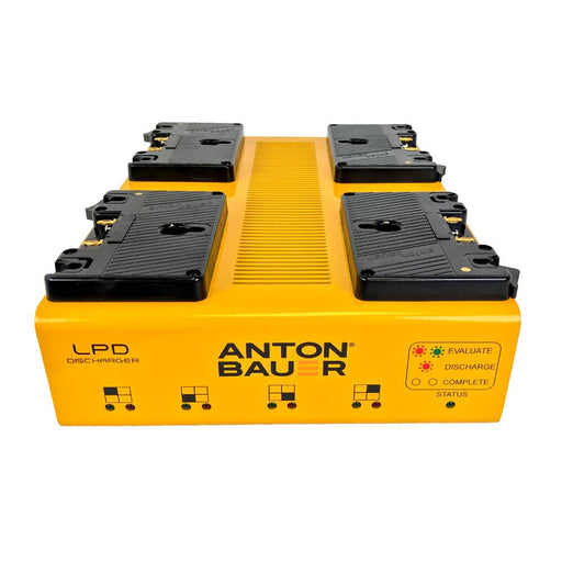 Anton Bauer LPD Travel Discharger Gold Mount from OnSetLighting.com