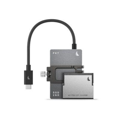 Angelbird Match Pack for Black magic Design Pocket Cinema Camera 6K (1TB SSD2go PKT (Graphite Grey) | 512 GB CFast) from OnSetLighting.com