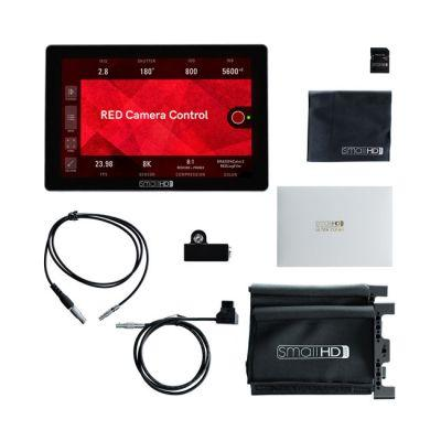 Aladdin Bi-Color Mini Eye-LITE from SmallHD Cine 7 Professional On-Camera Monitor with RED Camera Control Kit