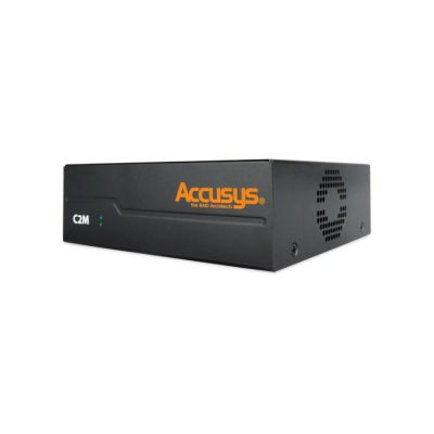 Accusys C2M PCIe3.0/2.0 to Thunderbolt 3 Converter from OnSetLighting.com