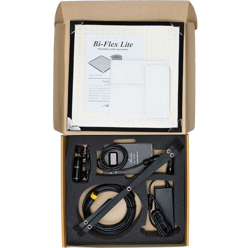 BI-FLEX1 Kit - Bi-Color (3000K-6000K) - 1'X1', 50W from OnSetLighting.com