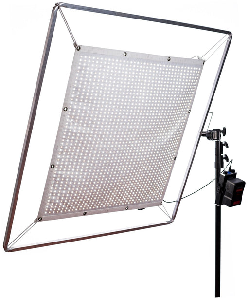 Aladdin Fabric Lite 200W Bi-Color Full Kit with Case with Gold Mount from OnSetLighting.com