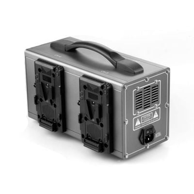 GEN ENERGY 4-Channel Simultaneous V-Mount Charger (3.5A) from OnSetLighting.com