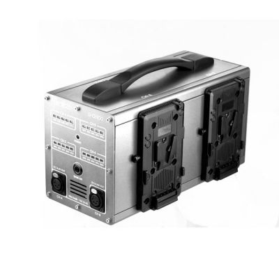 GEN ENERGY 4-Channel Simultaneous Fast V-Mount Charger (6A) and Power Station from OnSetLighting.com