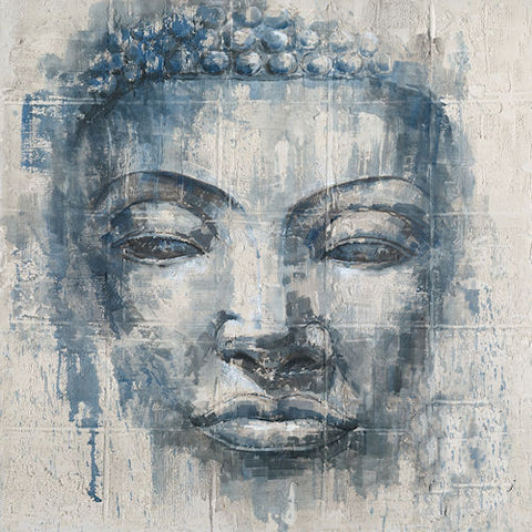 Pella Goods - Blue Buddha Canvas,Canvas Picture-