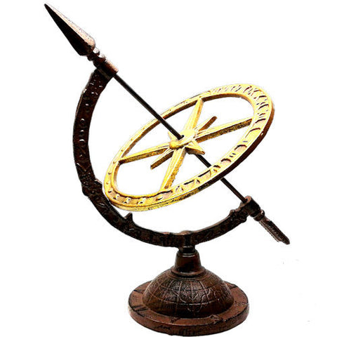 Pella Goods - Bronze & Gold Metal Compass,Metal Decor-