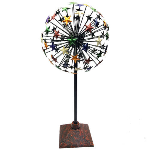 Pella Goods - Colorful Star Ball Metal Decor,Metal Decor-