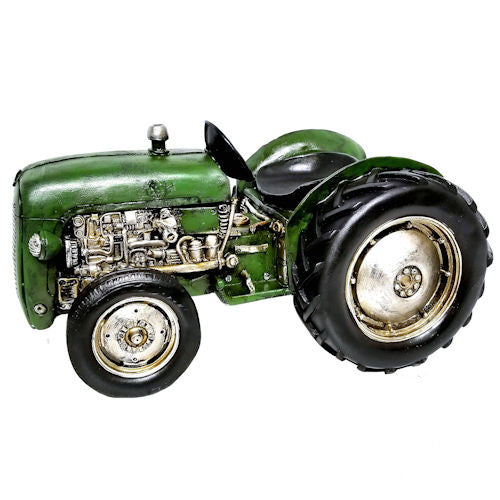 Pella Goods - Green Tractor,Birds & Farm Decor-