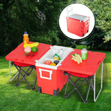 Outdoor Foldable Multi-function Rolling Cooler Upgraded Stool [Delivery in 3-7 days]