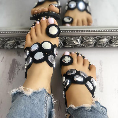 Bonnieshoes New Women Fashion Summer Slippers