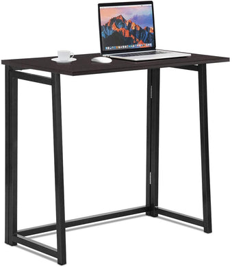 Small Foldable Computer Desk,Home Office Laptop Table Writing Desk, Compact Study Reading Table