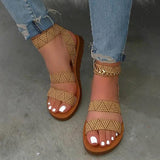 Bonnieshoes Summer Flat Sandals