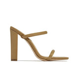 Bonnieshoes Summer High Heel Strap Sandals