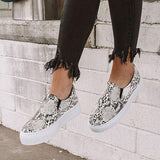 Bonnieshoes  The Linden Snake Print Sneaker