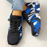 Bonnieshoes Platform Breathable Lace-Up Climbing Sneakers