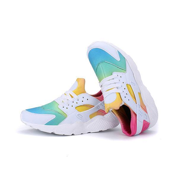Bonnieshoes Multicolor Lace-Up Sneakers