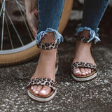 Bonnieshoes Ankle Strap Buckle Flatform Sandals(Ship In 24 Hours)