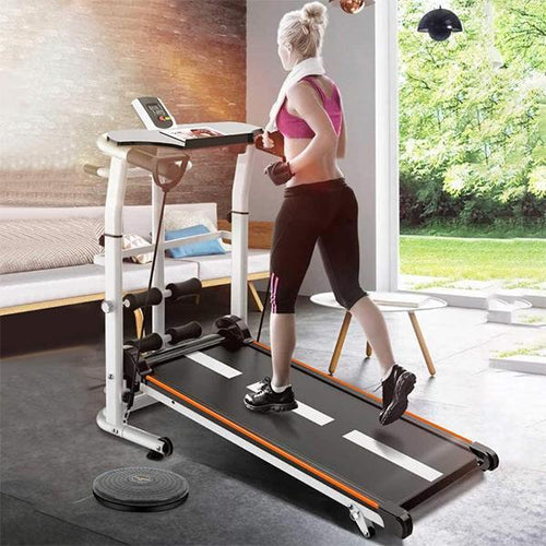 Mechanical Treadmill (Sit-ups Pannel & Draw Rope Mechanical)