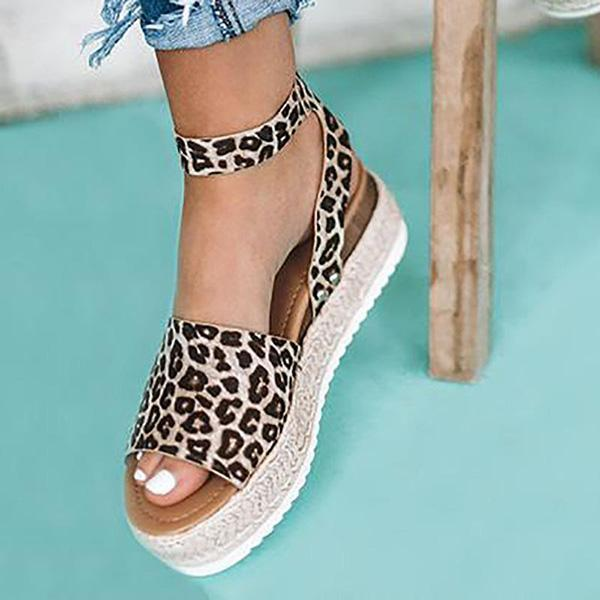 Bonnieshoes  Espadrilles Ankle Strap Wedge Sandals