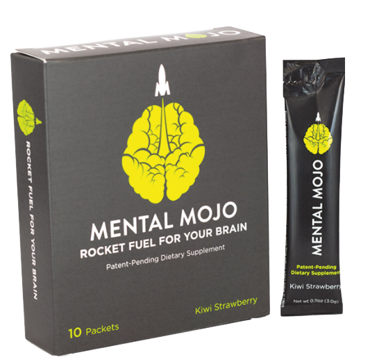 Mental Mojo 10 Stick-Pack Box