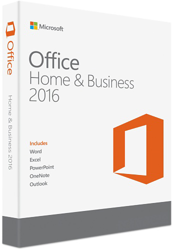 Microsoft Office Home & Business 2016 - Windows/Mac