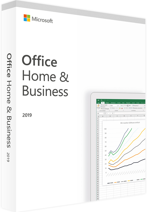 Microsoft Office Home & Business for Mac 2019