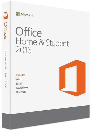 Microsoft Office Home & Student 2016 - Windows/Mac