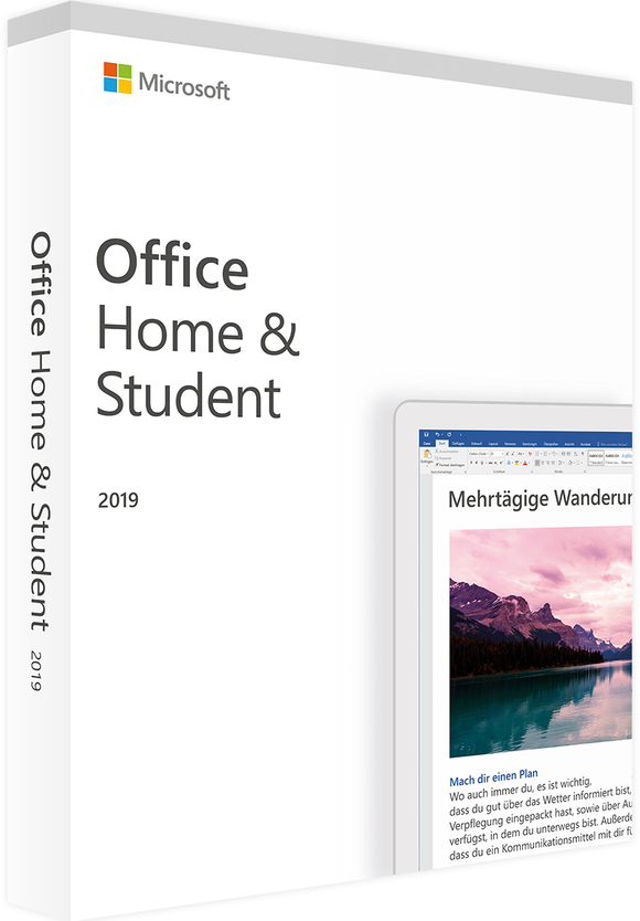 Microsoft Office Home & Student 2019 - Windows/Mac