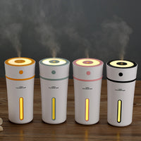 Innerest Portable Mini Humidifier Cool Mist for a Single Room Office Desk Kids Night Lights lamp