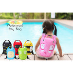 Innerest Kids Dry Bag Water Proof Resistent Backpack Sacks for camping swimming outdoor activities